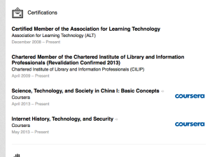 Coursera on LinkedIn