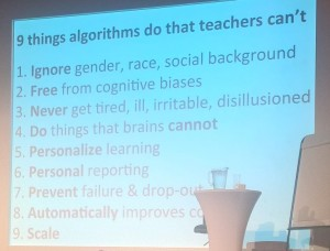 9 things algorithms do that teachers can not